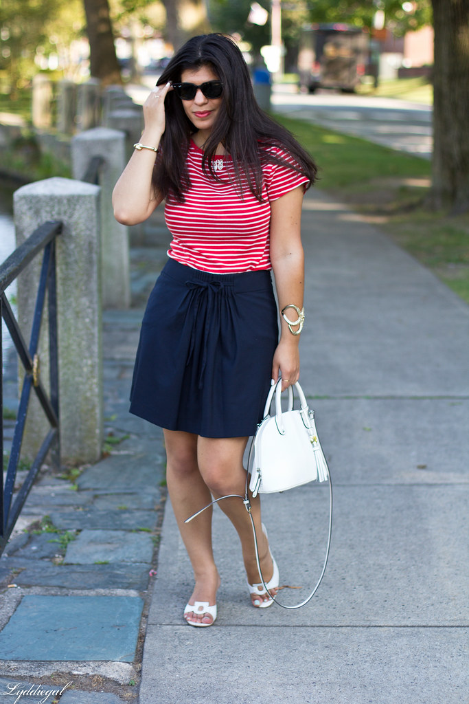 striped top, navy skirt, white bag-1.jpg