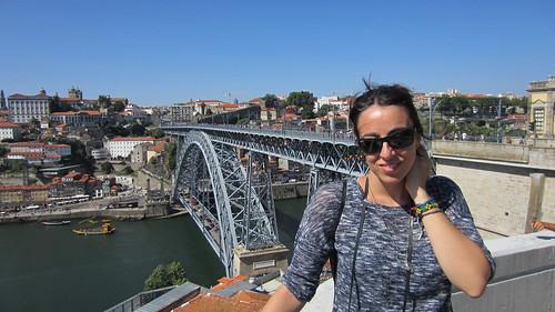 Puente Luis I desde Vila Nova de Gaia