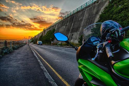 Momo bikes #kawasaki #er6 #canon #shark