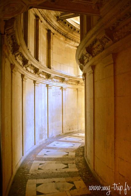 cathedrale couloir séville