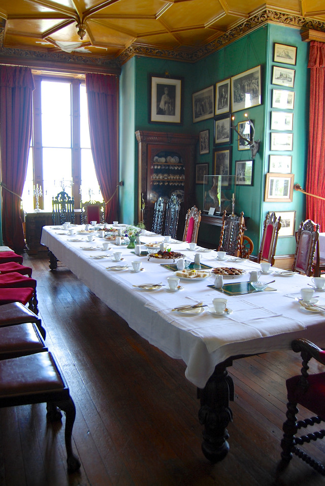 Balfour Castle Dining Room