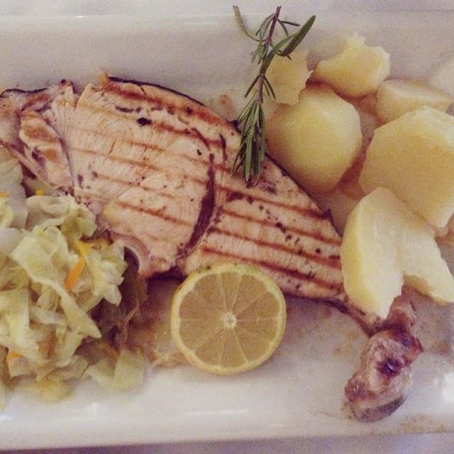 Comer en Mosteiros - pez espada