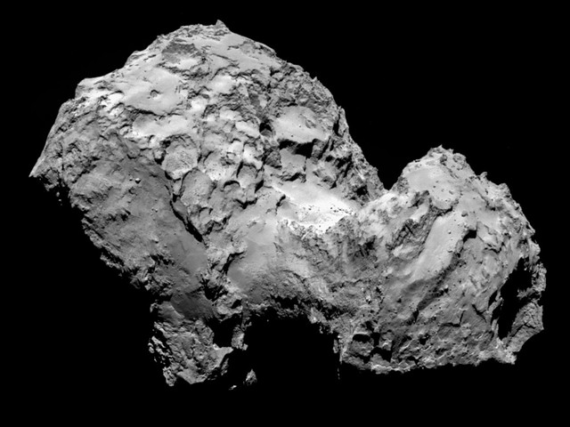 Comet 67P on 3 August - OSIRIS image