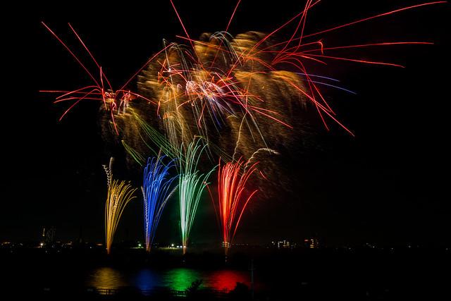 20140811_02_Firework 2014 Matsudo Chiba Japan