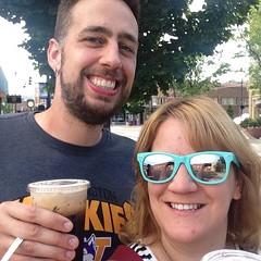 Vacation all we ever wanted! Iced beverages post-Thai food in Klamath Falls, Oregon. #vacation #klamathfalls