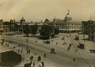 Cathedral Square, Christchurch, New Zealand photo taken 1906