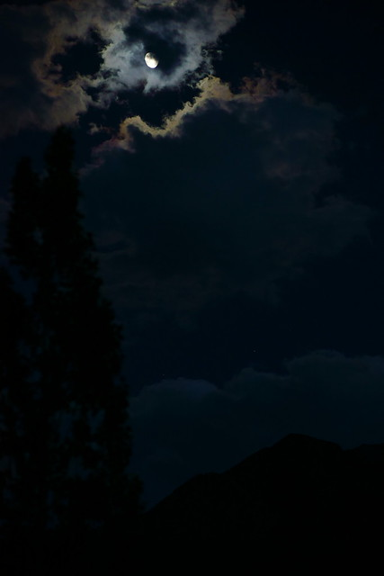 Moon night in Alchi. Ladakh, 07 Aug 2014. 325
