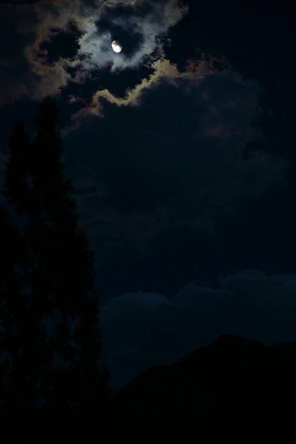 Moon night in Alchi. Ladakh, 07 Aug 2014. 325