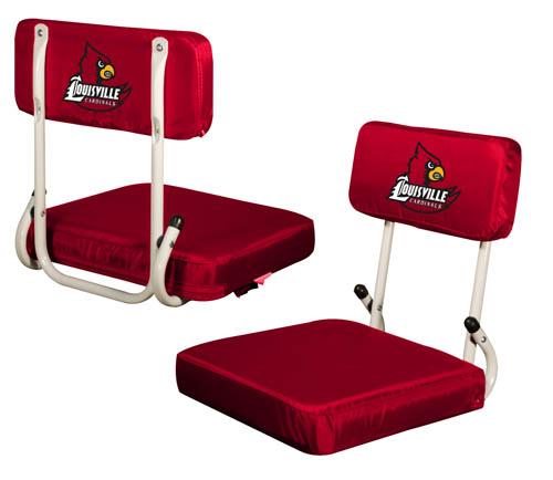Louisville Cardinals Hard Back Stadium Seat