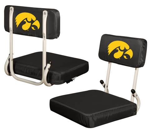 Iowa Hawkeyes Hard Back Stadium Seat