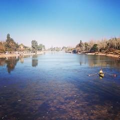 En el Parque General San Martín de #Mendoza en el día del paso a la inmortalidad de mi tocayo!