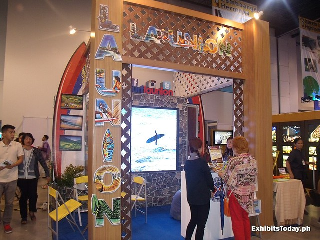 La Union Exhibit Booth
