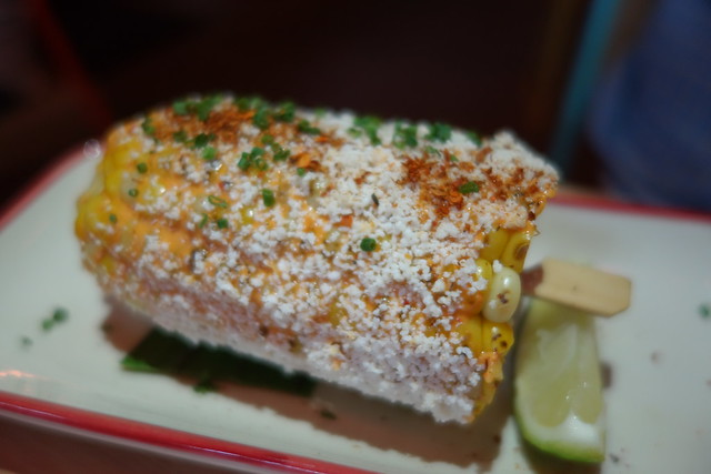 Elotes: Mexican Street-Style Grilled Corn with Mayo, Chili & Cotija Cheese - Super Loco