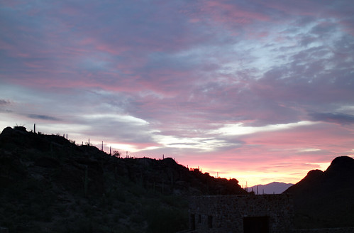 sunrise dawn tucson