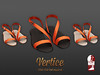 Vertice -  SummerFlat Sandals ORANGE