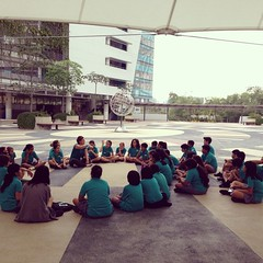 Volted in with @cpsillides today. Yay. #grade6BTC #uwcsea_east