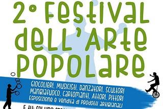 Noicattaro. Festival dell'arte popolare front