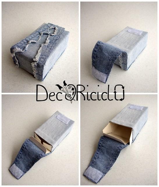Collage riciclo scatola sapone 2
