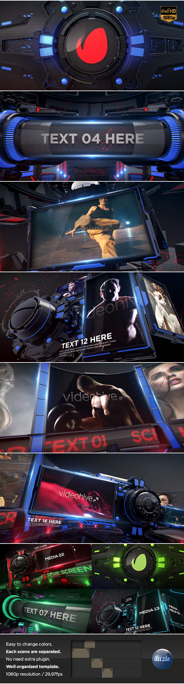 velocity 3d display by iluzie videohive
