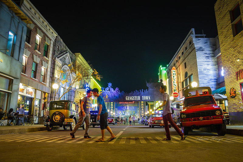Gangster Town di Museum Angkut
