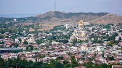 Największa w Gruzjii cerkiew Sameba (Sobór Św. Trójcy), Tbilisi.