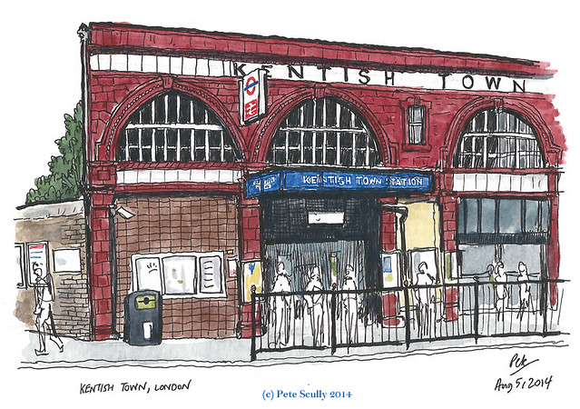 kentish town station