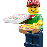 LEGO Collectable Minifigures Series 12 - Pizza Delivery Man