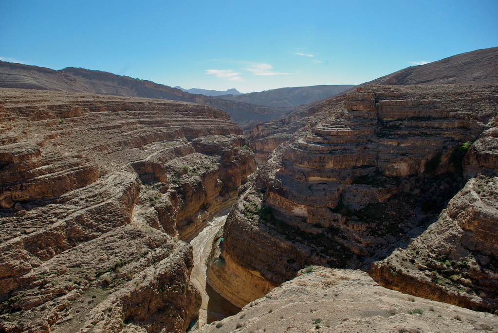 Mides Canyon, Tunisian border with Algeria