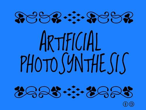 Buzzword Bingo: Artificial Photosynthesis
