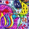 Colorful graffiti - Hell's Kitchen