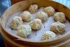 Green Melon and Shrimp Dumplings 絲瓜蝦仁小籠包