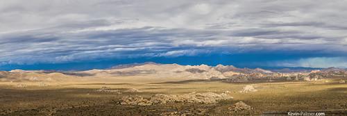 morning summer panorama chihuahua storm rain clouds nationalpark shadows view desert scenic joshuatree stormy august panoramic falling monsoon mojave thunderstorm distant joshuatreenationalpark virga ryanmountain kevinpalmer tamron1750mmf28 pentaxk5
