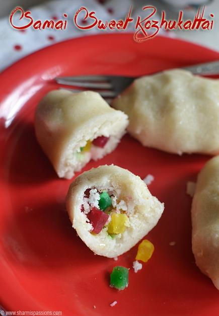 Samai Sweet Kozhukattai