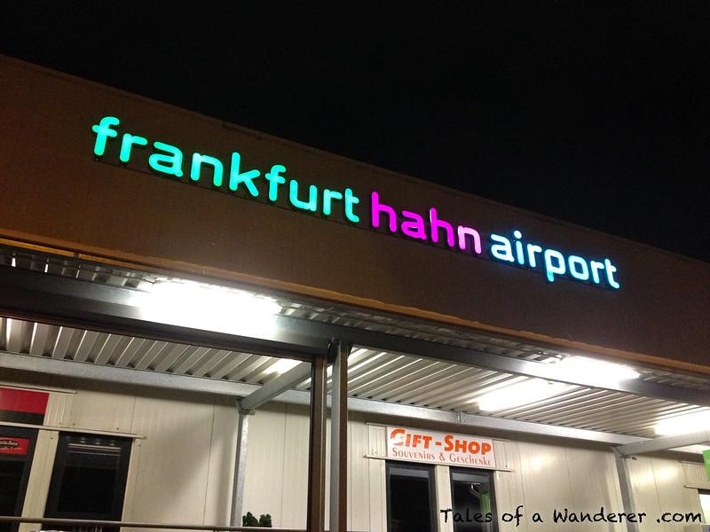 LAUTZENHAUSEN - Flughafen Frankfurt-Hahn