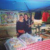 Monika, Alexis & the bees at 61st St. Farmers Market! @royalpiesusa