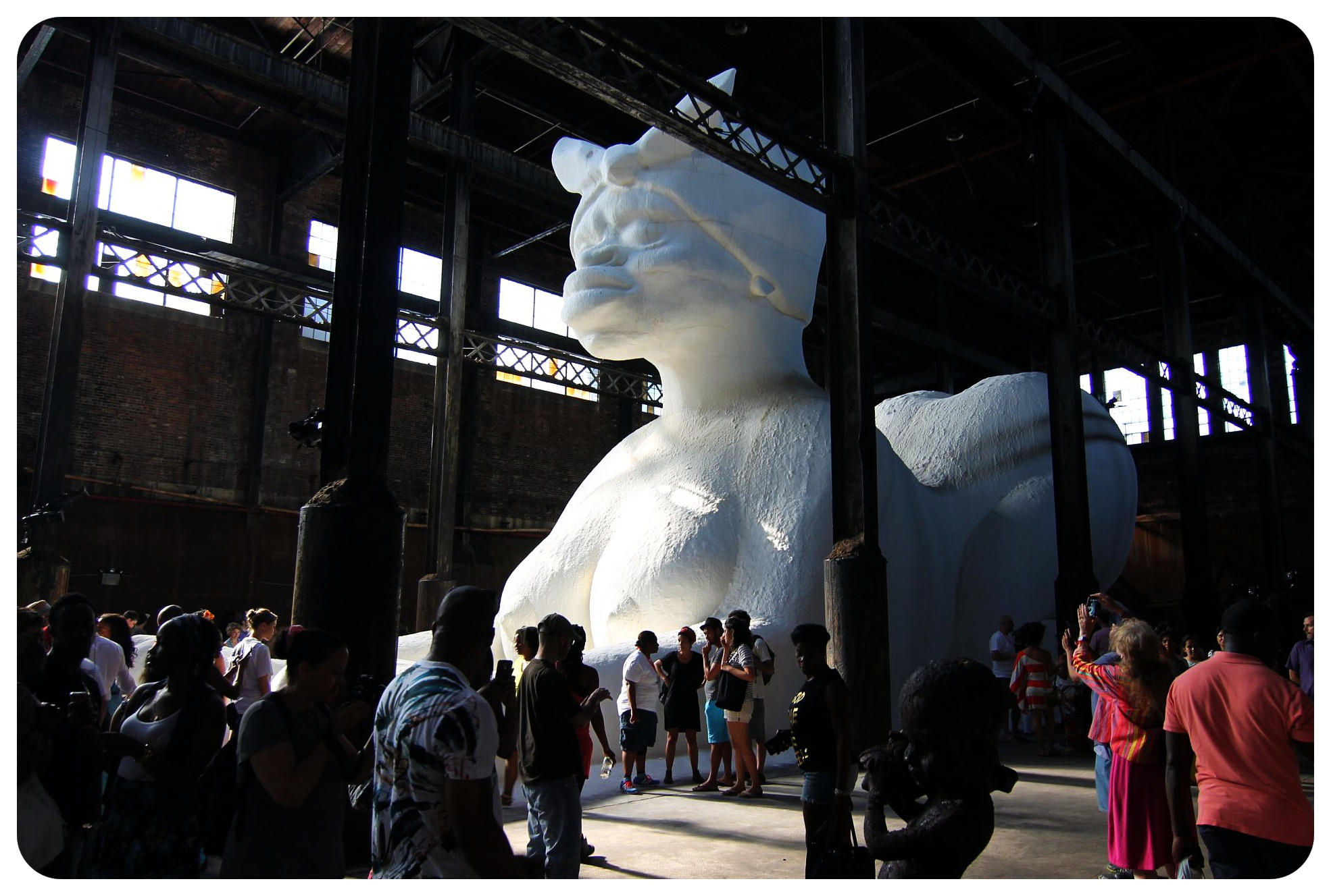 kara walker domino sugar factory sugar sphinx williamsburg