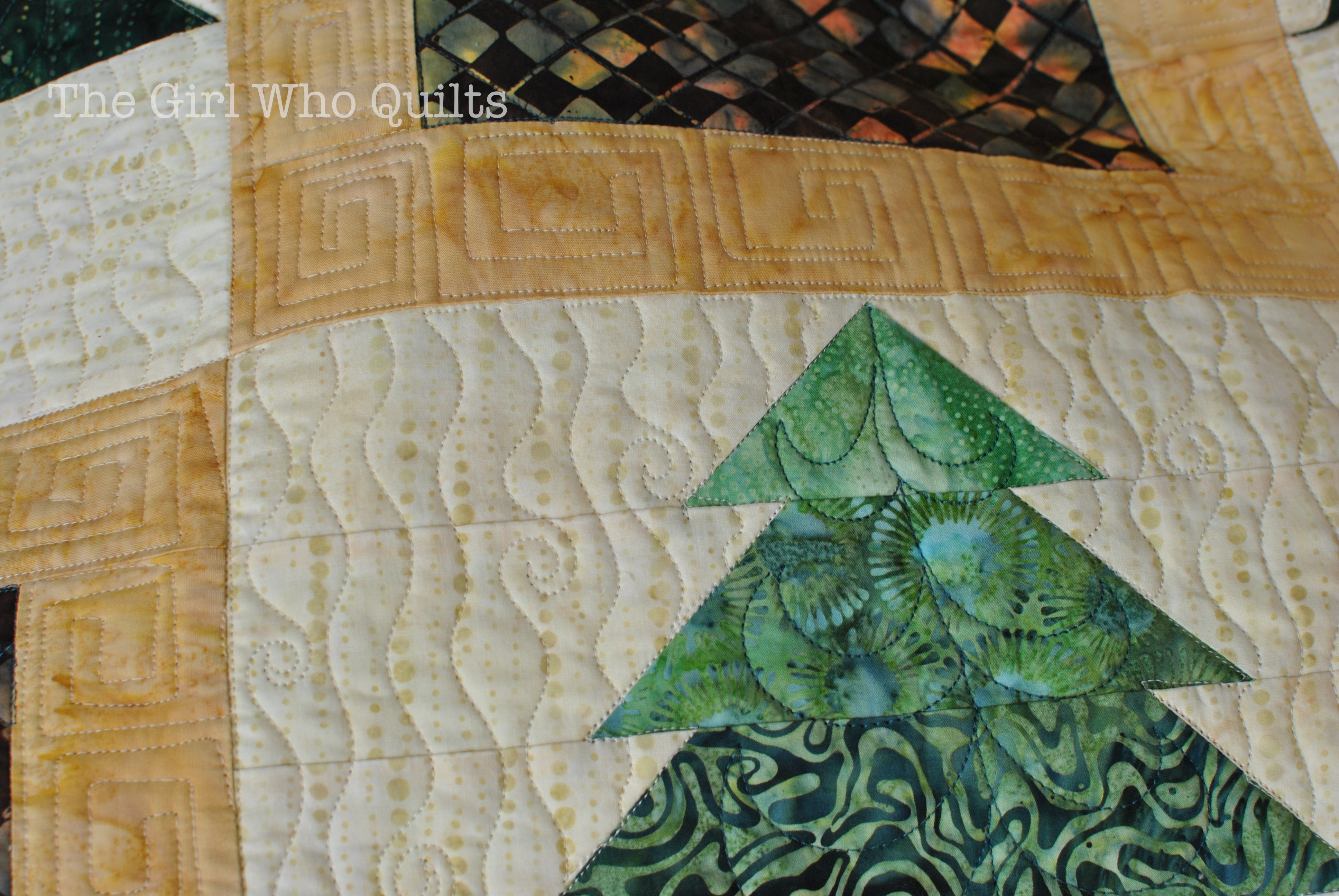 Upstate Quilt - Long Arm Quilted for Sew Many Creations