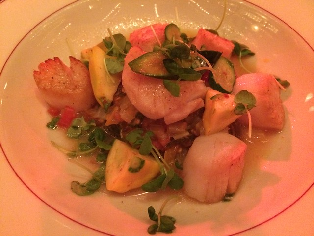 Roasted scallops - Le Diplomate