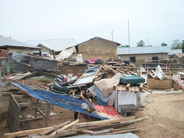Properties of families displaced for construction of military barracks_Abuja