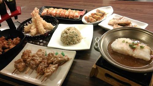 日本料理包廂食記-教師節讓老師在高雄松江庭餐廳吃到飽 (16)