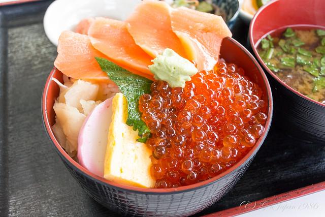 日本海  いくら・さけ丼