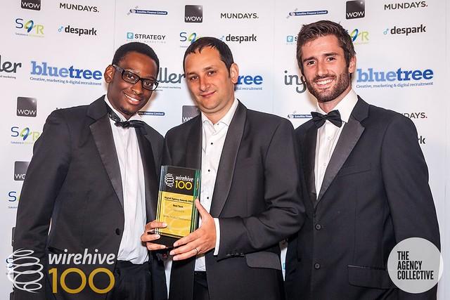 Wirehive100 award sponsors