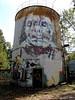 """""""Symphony of desperation"""" Last wall for the Fokus festival in Görlitz."""