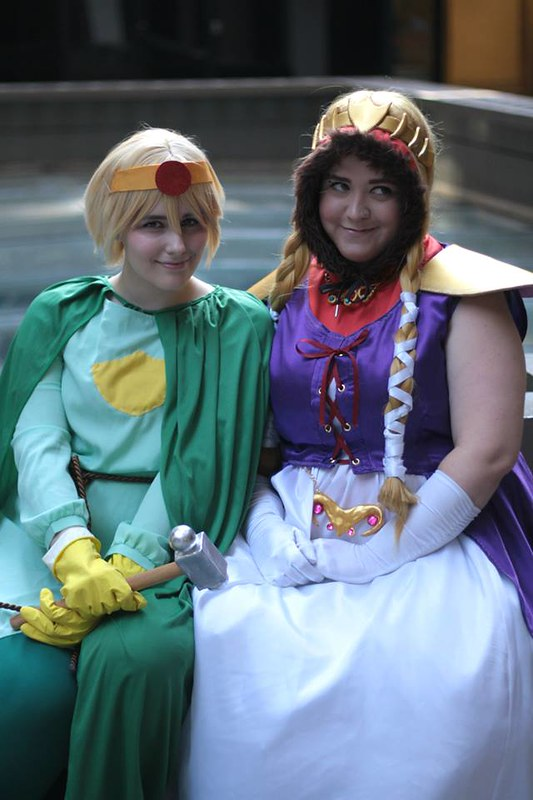 Dragon Con - Paladin Butters and Princess Kenny