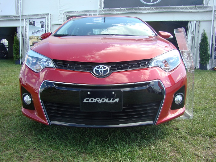 2014 Toyota Corolla at 2014 Georgian College Auto Show