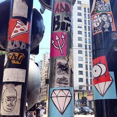 #Sampa #streetart #sticker
