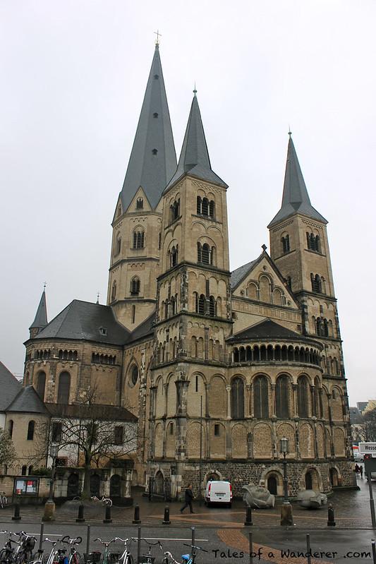 BONN - 'Bonner Münster' Kath. Pfarramt St. Martin Münster-Basilika