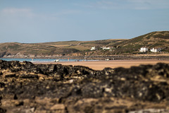 Croyde Devon Beach view