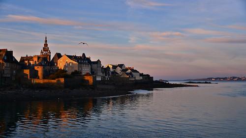 sea mer sunrise brittany roscoff bretagne breizh reflets bzh finistère littoral borddemer nikond800