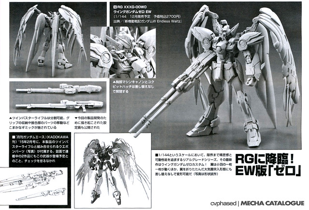 Real Grade XXXG-00W0 Wing Gundam Zero EW - Announced!